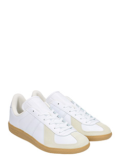 ... Adidas SNEAKERS BW ARMY IN PELLE BIANCA 2 ...