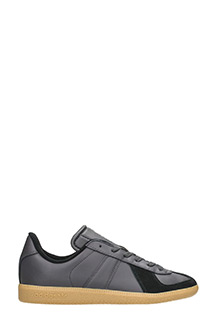 Adidas-Sneakers BW Army in pelle nera
