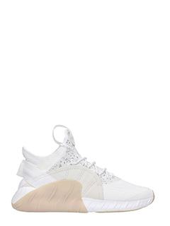 Adidas-Sneakers Tubular in tessuto bianco beige