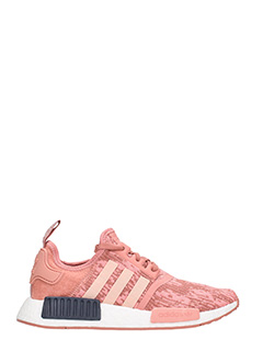 Adidas-Sneakers NMD R1 Primeknit Raw Pink in tesuto rosa