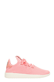 Adidas-Sneakers Pharrell Williams Tennis Hu in tessuto rosa