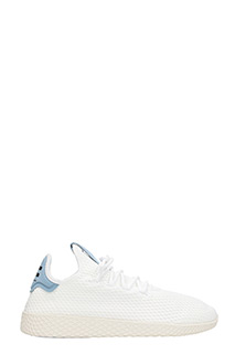 Adidas-Sneakers Pharell Williams Tennis Hu in tessuto bianco