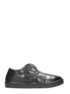Marsèll-sneakers Sancrispa Alta in pelle nera