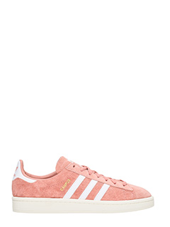 Adidas-Sneakers Campus in suede rosa