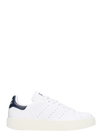 Adidas-Sneakers Stan Smith Bold  in pelle bianca