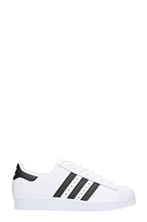 Adidas-Superstar 80 S W  white leather sneakers