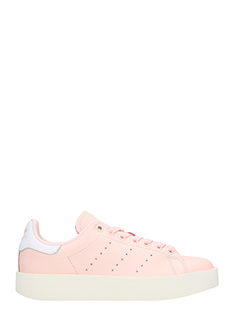 Adidas-Sneakers Stan Smith Bold  in pelle rosa
