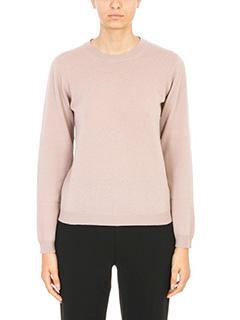 Maison Margiela-Maglia Classic Sweater in lana rosa