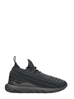 Y-3-Qasa Elle Lace black fabric sneakers