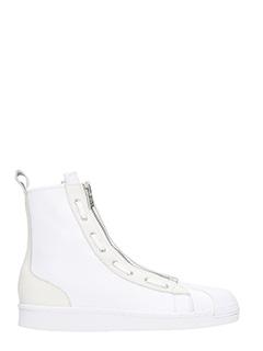 Y-3-Y-3 Pro Zip white hi sneakers