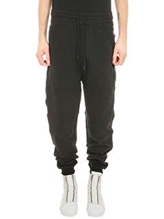 Y-3-Vintage black cotton pants