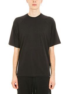 Y-3-T-shirt in cotone nero