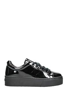 Kenzo-Sneakers K-Lace in vernice nera