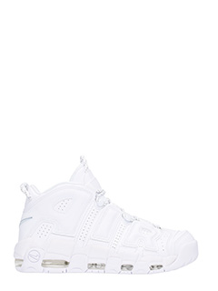 Nike-Sneakers More Uptempo 96 in pelle bianca
