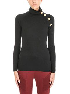Pierre Balmain-shoulder button sweater