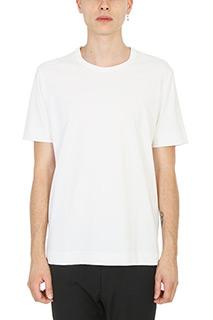 Jil Sander-T-shirt in cotone bianco