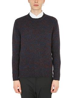 Jil Sander-violet and blue pullover