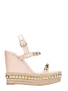 Christian Louboutin-Cataclou wedge 120 mm