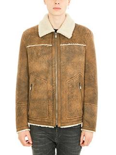 Drome-Fur Collar brown jacket