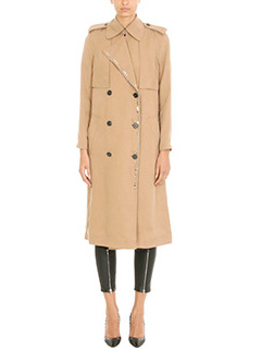 Alexander Wang-Trench Slouchy in viscosa cammello