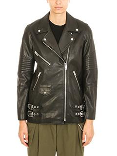 Alexander Wang-Black leather jacket