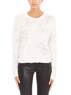 Iro-Maglia Cenix in cotone bianco
