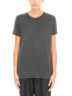 Iro-Egaten black melange tshirt