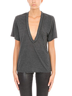 Iro-Efory black viscose T-Shirt