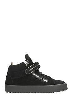 Giuseppe Zanotti-Sneakers Mick Low in suede nero