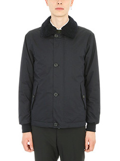 Z.Zegna-blue cotton and fabric jacket
