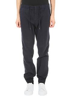 Z.Zegna-Pantalone in cotone blu
