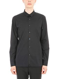 Z.Zegna-Camicia in cotone nero