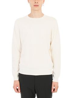 Z.Zegna-Maglia in lana bianca