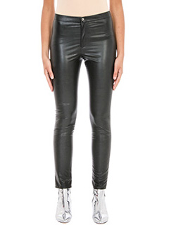 Isabel Marant Etoile-Jeffery  black faux leather trousers