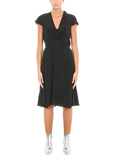 Isabel Marant Etoile-West black silk dress