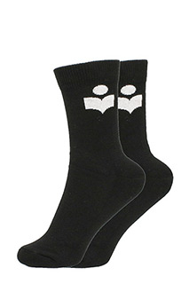 Isabel Marant-Visby cotton logo sock