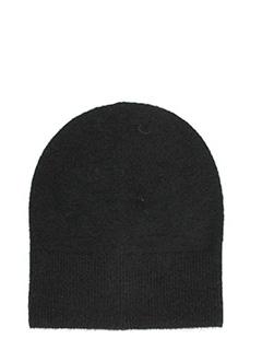 Isabel Marant-Cappello Crofton in alpaca e lana nera