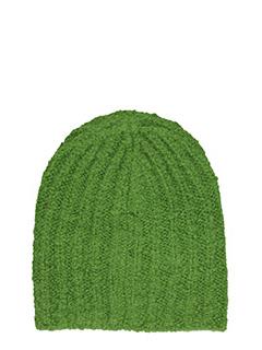 Isabel Marant-Cappello Freja in lana verde