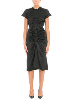 Isabel Marant-Else ruched satin midi dress