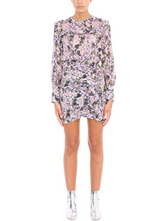 Isabel Marant Etoile-Jirvina Flowers Camouflage Mini Dress