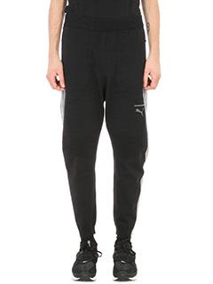 Puma-black Evoknit Move cotton trousers