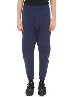 Puma-Pantalone Evoknit Move in cotone blu