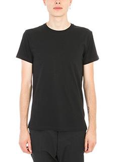 Jil Sander-T-shirt Basic in cotone nero