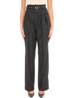 Iro-Lauzon black wool pants