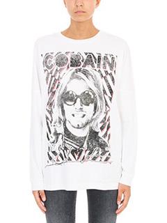 R13-Kurt cotton-jersey T-shirt