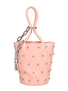 Alexander Wang-Borsa Mini Roxy in pelle rosa