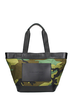 Alexander Wang-Borsa camouflage in canvas