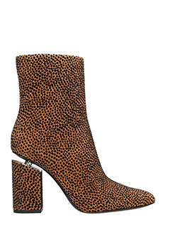 Alexander Wang-Kirby Suede Hight ankle boots