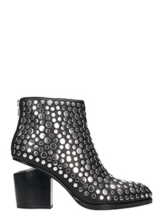 Alexander Wang-Studded Gabi ankle boot
