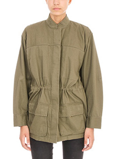 T by Alexander Wang-Coat Drawcord